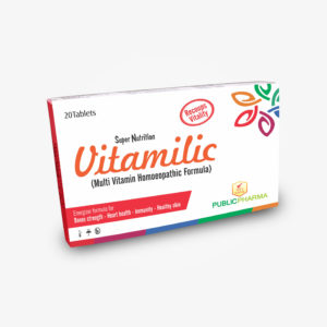 Vitamilic is indicated to regulate metabolism thus lowering the risk of development of chronic diseases and improves inter-cell communication A Product full of mineral and Vitamins